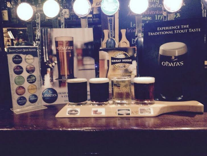 Beer Tasting has long since been a staple of Kilkenny Stag Parties