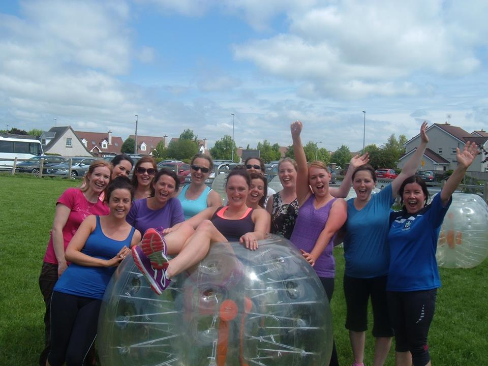 bubble soccer party packages in kilkenny