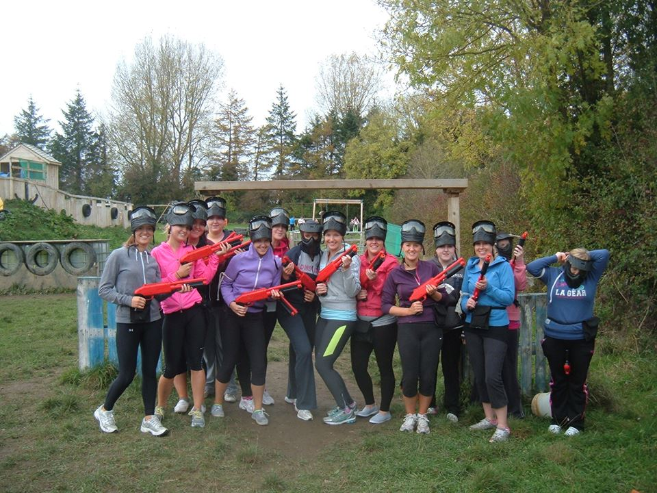 Splatball & Paintball for Hen Parties