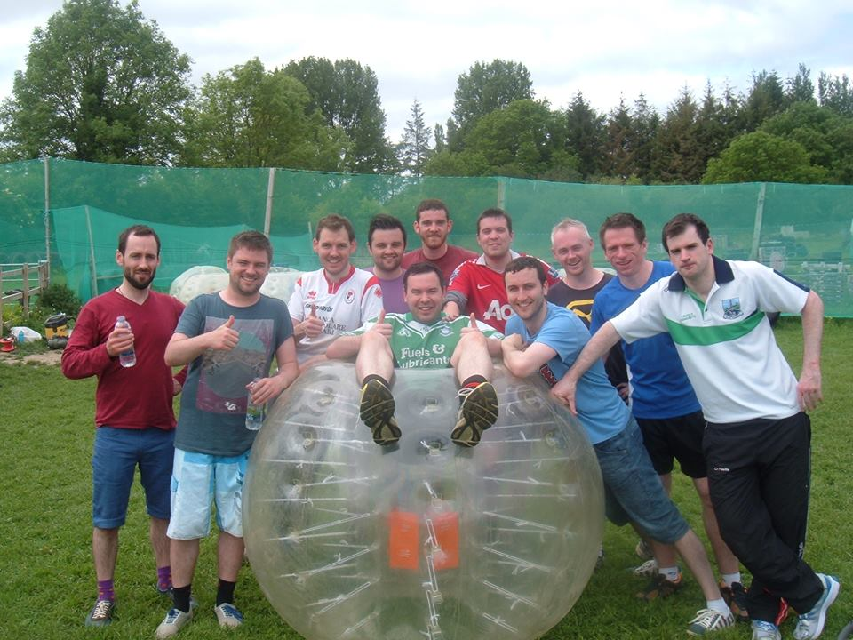 Kilkenny Stag Party Bubble Soccer for Kilkenny Stag Parties