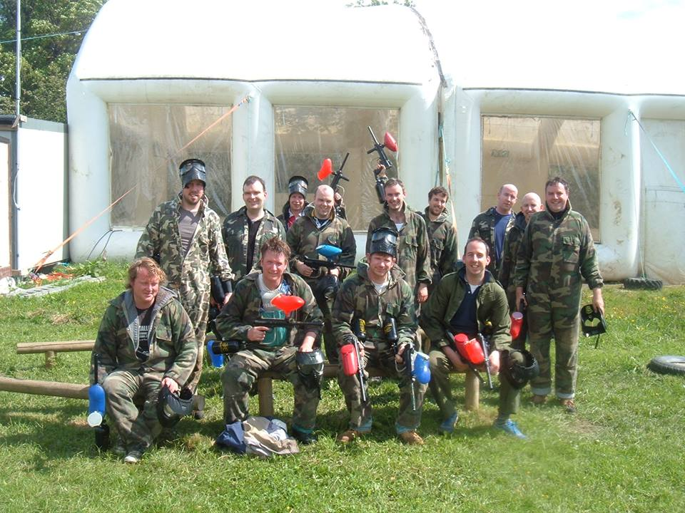 Stag Party Paintball