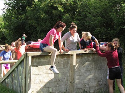 Hen Party Obstacle Course team building