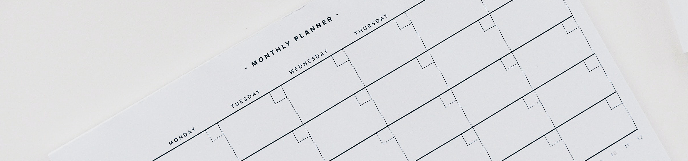 Monthly Planner Image
