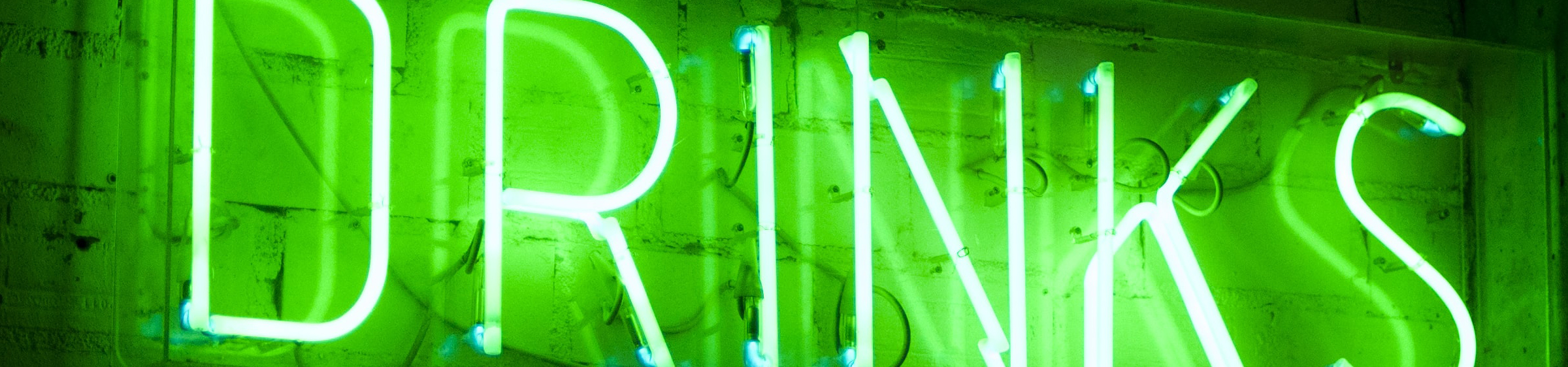 Neon 'Drink' Sign