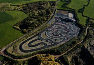 Sky shot of Kilcortan Raceway