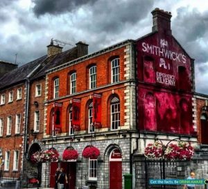 Street shot of Smithwicks Experience, Kilkenny