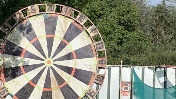 Giant Darts Board