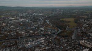 Aerial view of Kilkenny